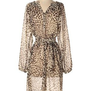 BANANA REPUBLIC HERITAGE Animal Print Dress